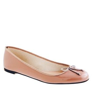 J. Crew Patent Leather Ballet Flats